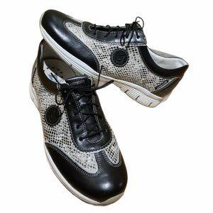 Women's MEPHISTO Snakeskin Sneakers (Size 6.5)